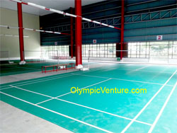 Alma Sports Centre 6 Badminton Courts