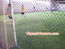 2 synthetic turf futsal courts in Gembira Parade, Penang