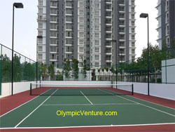 Another View of 1 Tennis Court for Vina Condo, KL
