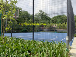 Windows-on-the-Park, Cheras, Basketball Court with Fence Installed