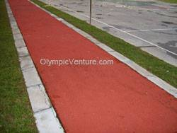 Another View of Jit Sin Chinese School's long jump rubberized running track
