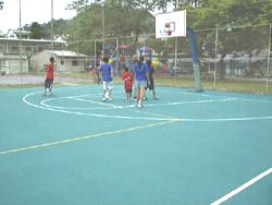 multi-purpose court for an international school