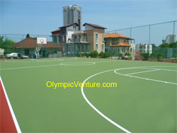 Another View of 1 Basketball Court at Pelita School, Penang.