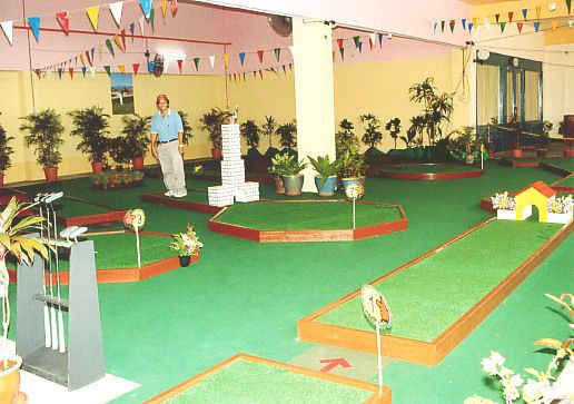 Green Landscape of Family Fun Golf