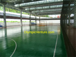 Blue Olymflex Rubberized Futsal court for Tenaga Nasional Bhd.